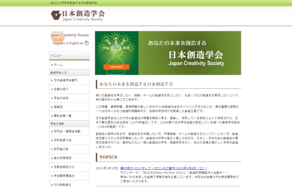 日本創造学会