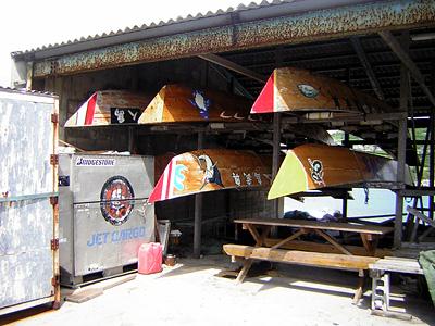 ハーリー船競争